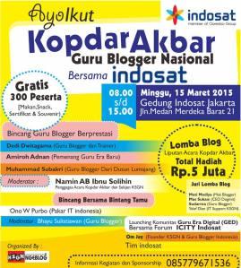Kopdar Akbar Guru Blogger Nasional