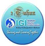 pin badge 2 Tahun IGI Bekasi