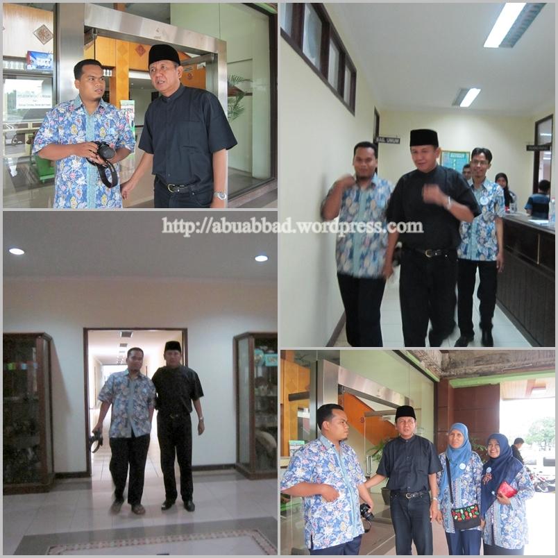 Obrolan hangat dengan pak Kepala Dinas Pendidikan Kota Bekasi