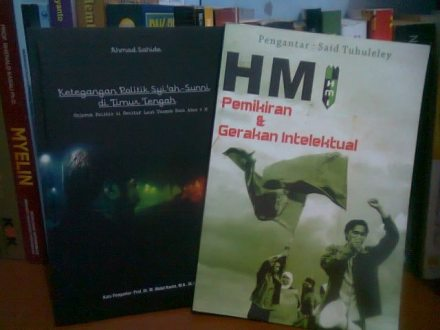dua buku karya Ahmad Sahide, MA (kawan seperjuangan di HMI Jogja)