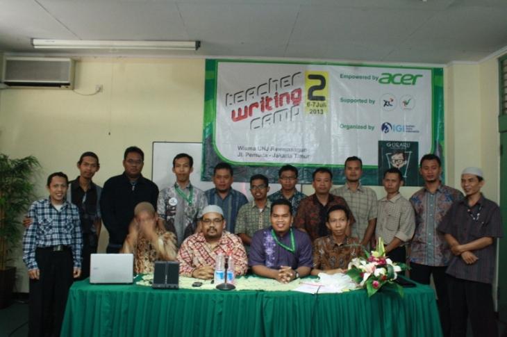 bersama para peserta TWC #2