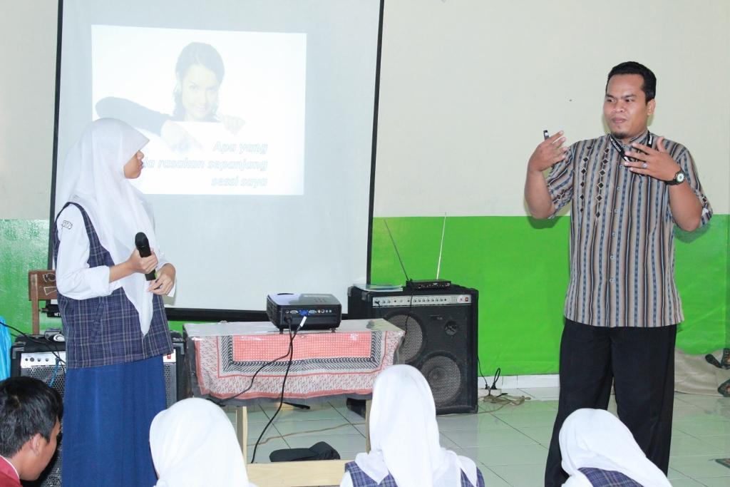 Dialog dengan audience