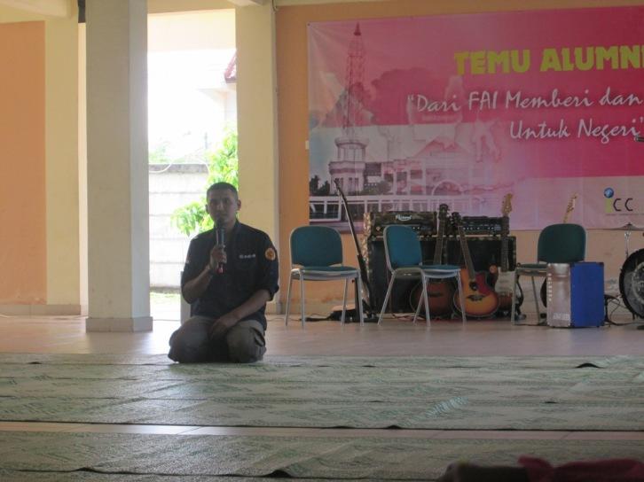 Ketua Panitia dan Ketua Alumni FAI UMY: Ananto Isworo, S.Ag