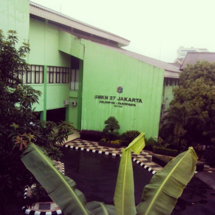 Lokasi Pelatihan di SMKN 27 Jakarta