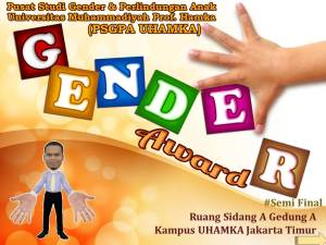 Present Semi Final Gnder Award UHAMKA